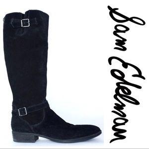 Sam Edelman • Suede riding boots